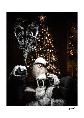 Bad Santa Claus of the Christmas season