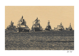 Russian Ships war invasion iii world declaration inte