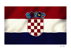 Croatia Flag Cool Tv Island Sea Natural Look
