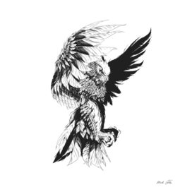 Owl Creature Lineart Edition