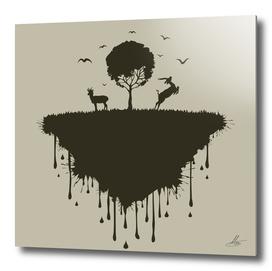 Island of deer