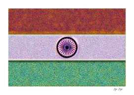 India Flag Terrain Wheel National Symbol Idea Now
