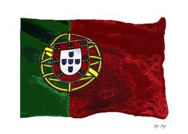Portugal Flag Strange Set World Shield Decoration Roy