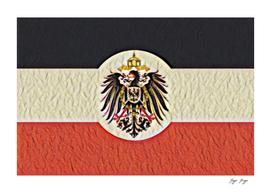 Reichskolonialflagge Flag Drape Germany 1900 Memory C