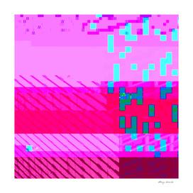Glitched pixels