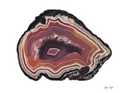 Agate Rock Formation Chalcedony Volcanic Metamorphic