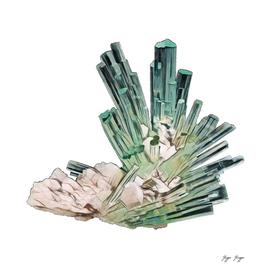 Beryl Composed Beryllium Aluminium Cyclosilicate