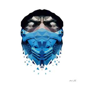 Sub Zero Mask Lowpoly Style