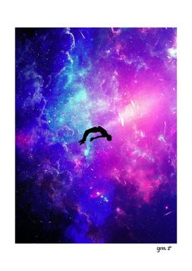 Silhouette Levitation Cosmos