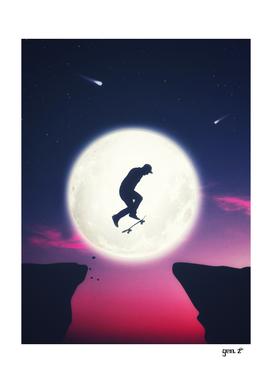 The Moon Skater