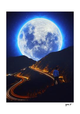 Traffic Moon hills