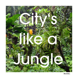 City's like a Jungle