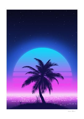 80s Palm Beach