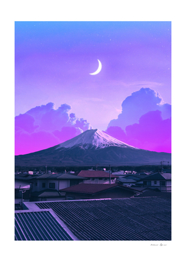 Vaporwave Fuji