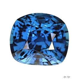 Sapphire Precious Gemstone Corundum Aluminum Oxid