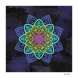 Colorful Energetic Mandala