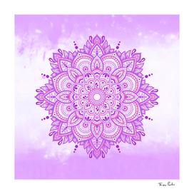 Light Purple Pleasure Mandala