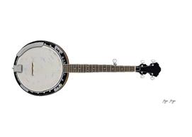 Banjo Stringed Membrane Stretched Resonator Plastic S
