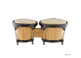 Bongo Drums Afro-cuban Percussion Small Bottomed Drum
