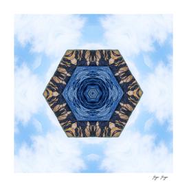 Symmetric Pattern Hexagon Wood Tumblr Inspiration End