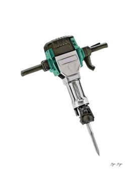 Jackhammer Pneumatic Electro-mechanical Tool Hammer