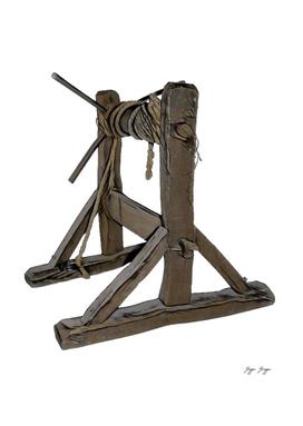 The Rack Used Rectangular Wooden Frame Roller Spy