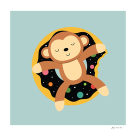 Monkey - vacation in the Galaxy