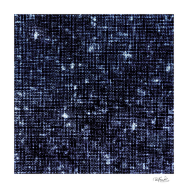 Geometric Dark Blue Abstract Print Pattern