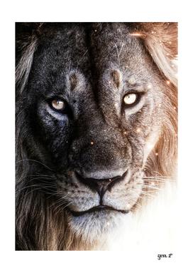 Portrait of the Lion King