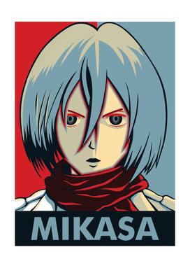Mikasa Attack On Titan