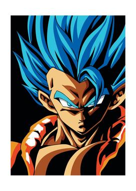 GOGETA SSJ BLUE Dragon Ball