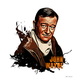 John Wayne Fansart Style