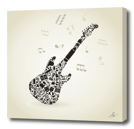 Art a guitar