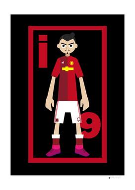 Go Goal Your Team Player Ibrahimovic 9