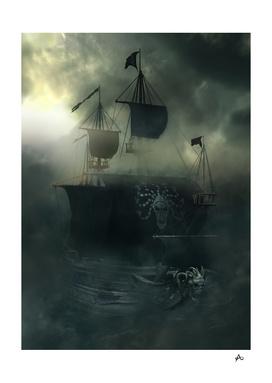 Medusa Pirate Ship-Sea Ghost Legend