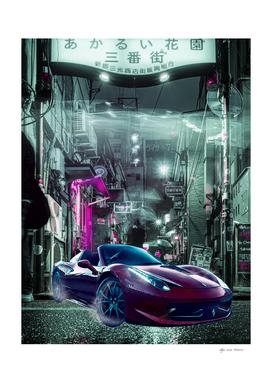 Tokyo Street Cyberpunk 2077