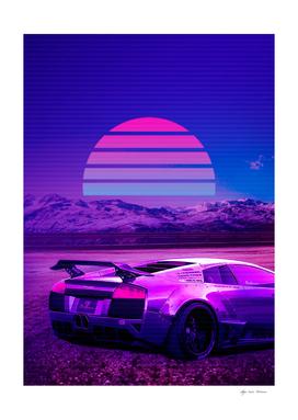 Synthwave Car Cyberpunk 2077