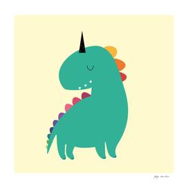 Cute Dinocorn