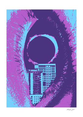 Eye Cityscape