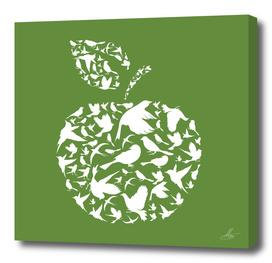 Apple a bird