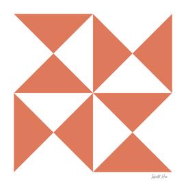 Terra Cotta Triangles   Beautiful Interior Design