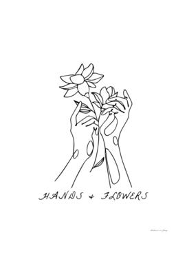 HANDS&FLOWERS