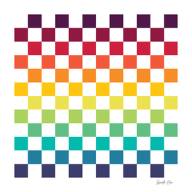 Infinite Hue Checkerboard | Beautiful Interior Design