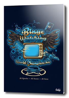 Binge Watching Champion