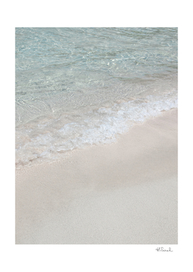 Crystal Clear Beach Water   Greece Travel Photography