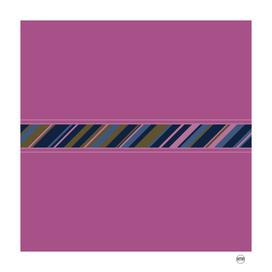 Minimalist geometric stripes design I