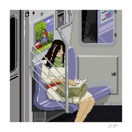 Subway Portrait 002