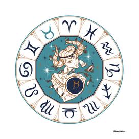 Taurus - Beautiful Girl Zodiac