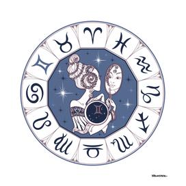 Gemini - Beautiful Girl Zodiac