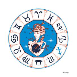 Sagittarius - Beautiful Girl Zodiac